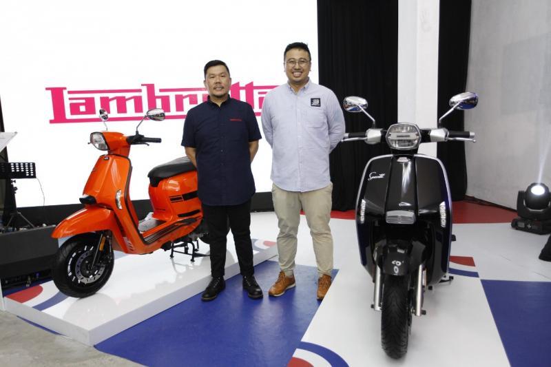 Penasaran ingin lihat langsung model baru Lambretta? Yuk, datang ke Telkomsel IIMS 2019 mulai 25 April – 5 Mei di JIEXPO Kemayoran, Jakarta Pusat. (ist)