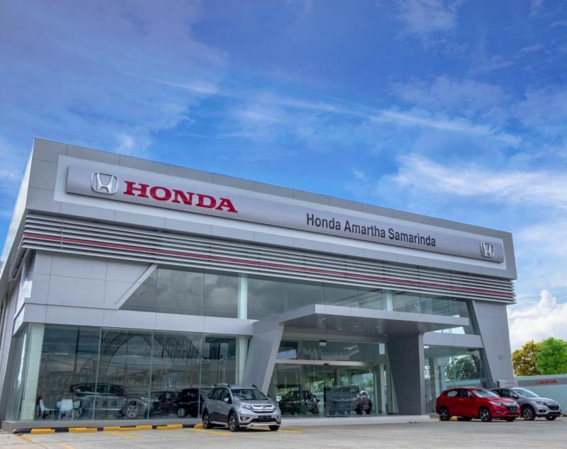 Honda Amartha Samarinda ini menjadi dealer resmi Honda ke-2 di Samarinda, dan sekaligus menjadi dealer Honda terluas di pulau Kalimantan. (ist)
