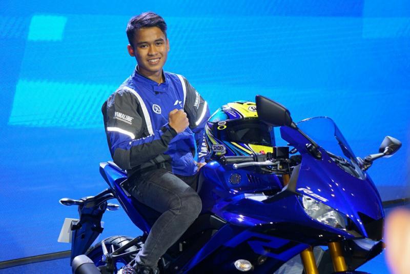 Galang Hendra akan menjadi instruktur di Yamaha Cup Race Boyolali. (foto : yimm)