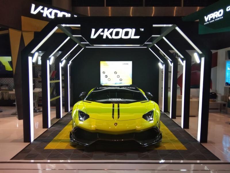 V-Kool Paint Protection Film (PPF), produk premium kualitas tinggi yang ditujukan untuk perlindungan bodi mobil.(anto)