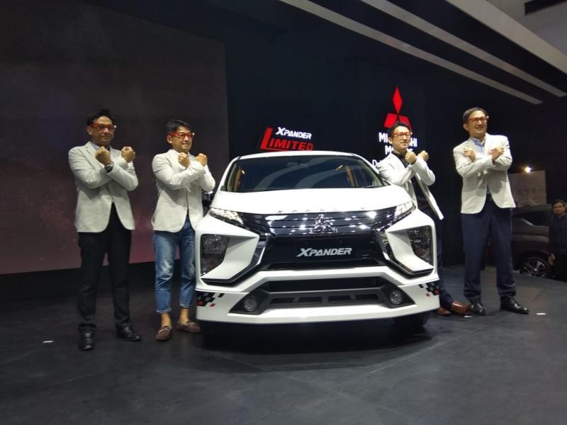 Mitsubishi catat penjualan positif hingga hari ke-8 Telkomsel IIMS 2019, Xpander mendominasi