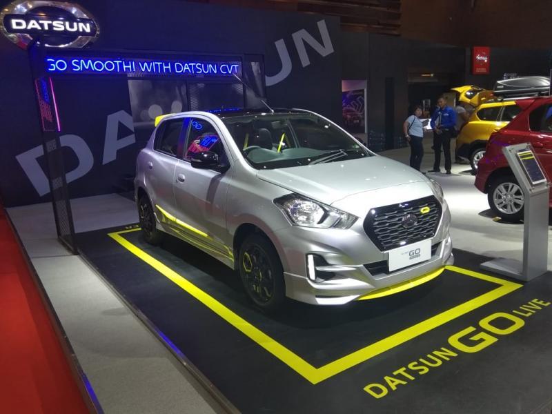 Selain di ajang IIMS 2019, konsumen dapat memesan Datsun GO+ CVT di jaringan diler Datsun di seluruh Indonesia. (anto).
