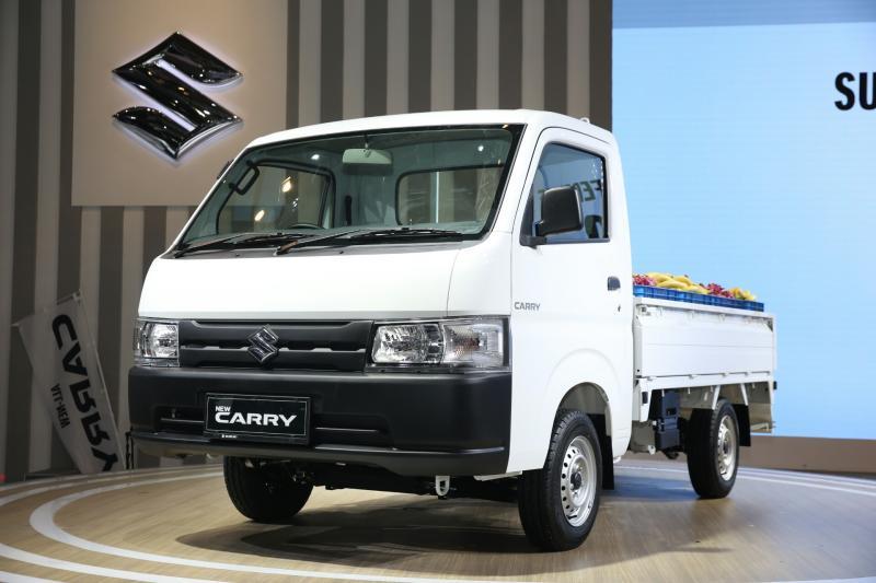 Dengan tampilan baru dan dimensi lebih luas, Suzuki Carry digadang makin diminati konsumen. (foto : sis)