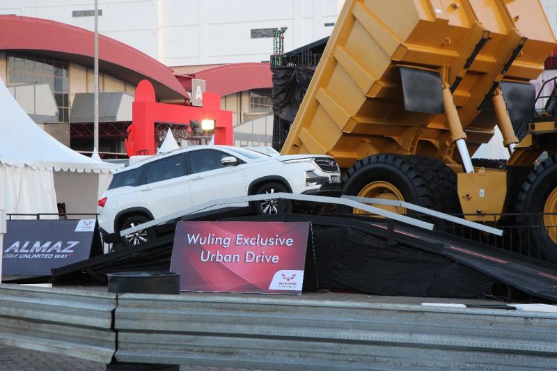 Tersedia juga unit test drive mulai dari Confero S ACT, Cortez CT, dan Almaz yang dapat dijajal di area Wuling Exclusive Urban Drive serta Wuling Turbo Experience. (ist)