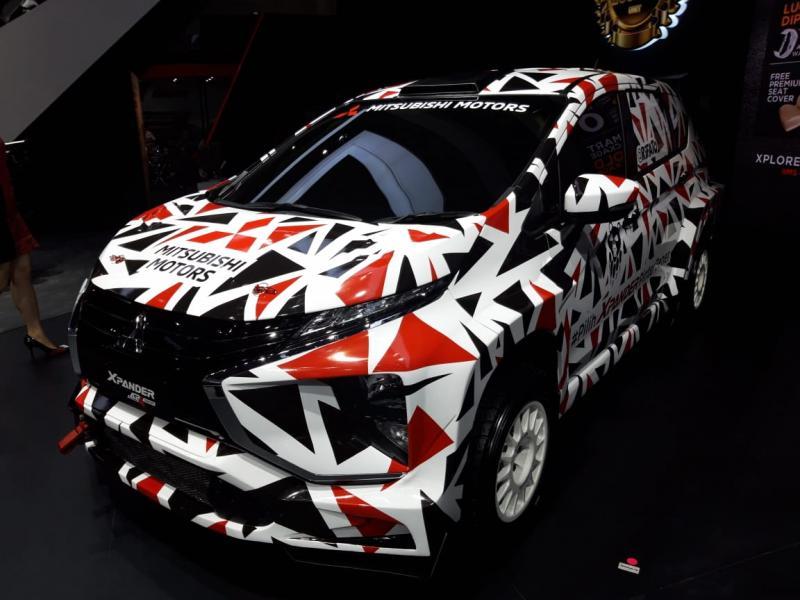 Xpander AP4 Concept, senjata Rifat Sungkar di kejuaraan rally