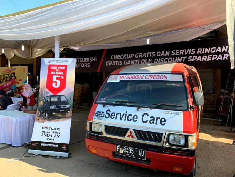 Grebek Pasar, program khusus Mitsubishi untuk kendaraan niaga ringan