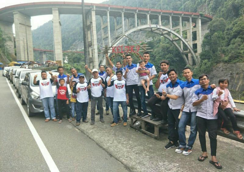 Komunitas pemilik Datsun Go bentuk Chapter baru di Sumatera Barat.