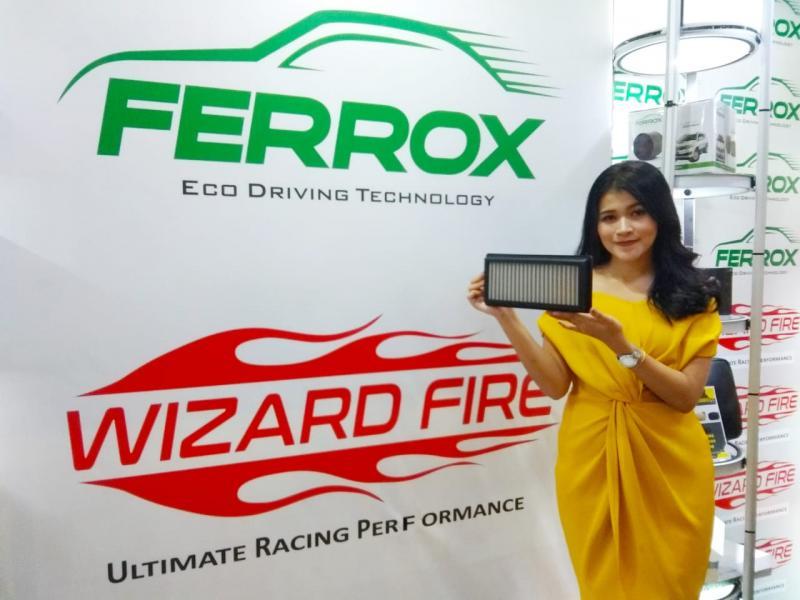 Ferrox filter udara dibuat dari bahan stainless steel 304 dari Jepang. (anto)