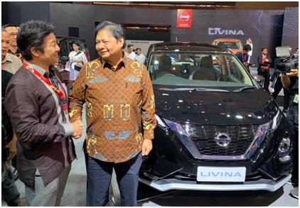 Selama Telkomsel IIMS 2019, Para pengunjung bisa melakukan test drive termasuk All New Nissan Livina, All New Nissan Serena, dan New Nissan Terra. (ist)