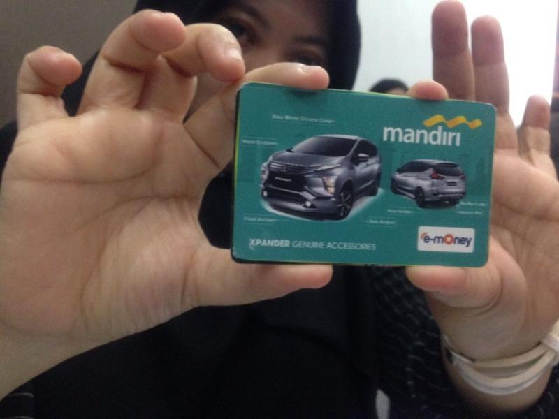Service Booking Card XPANDER, menawarkan benefit tambahan untuk konsumen Mitsubishi XPANDER