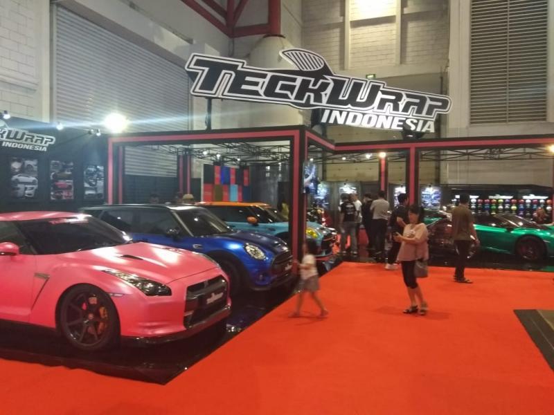 TeckWrap adalah premium vehicle wrapping film yang berkualitas tinggi asal Amerika Serikat. (anto)