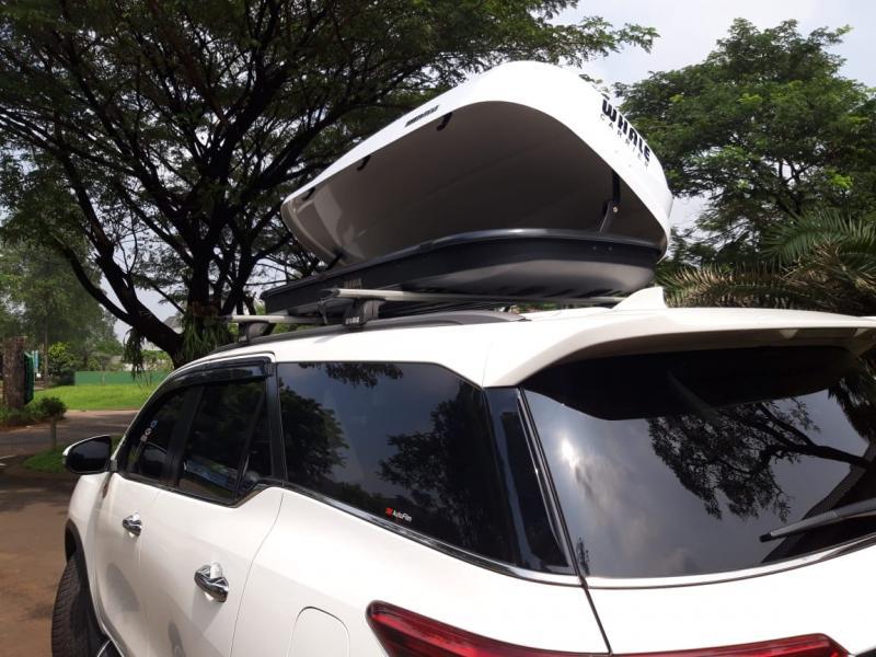 Roof Box Whale Carrier tawarkan desain futuristik dengan fitur modern