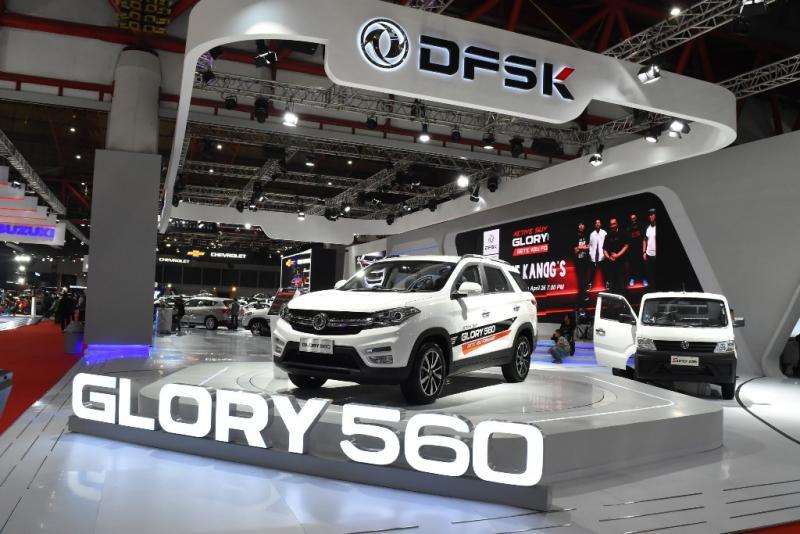 DFSK Glory 560 jadi magnet pengunjung Telkomsel IIMS 2019