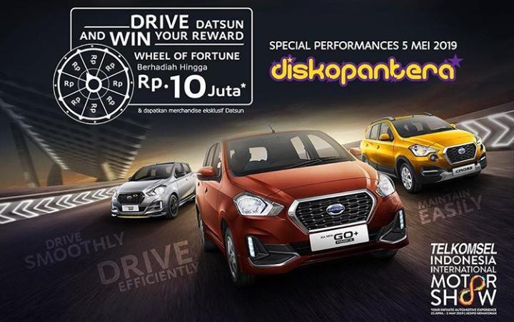 Datsun Indonesia juga mengadakan program khusus selama penyelenggaraan Telkomsel IIMS.