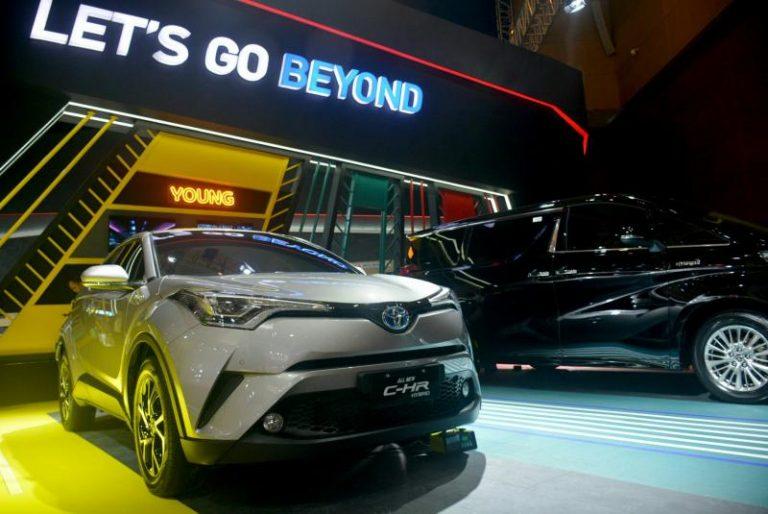 Toyota raih penjualan fantastis di Telkomsel IIMS 2019