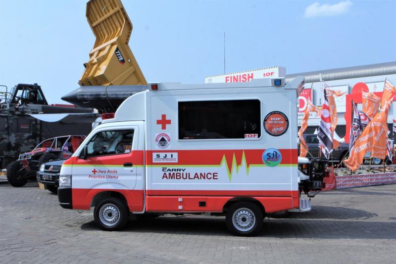 New Carry versi Ambulance ini diposisikan mampu memenuhi berbagai kebutuhan medis. (anto)