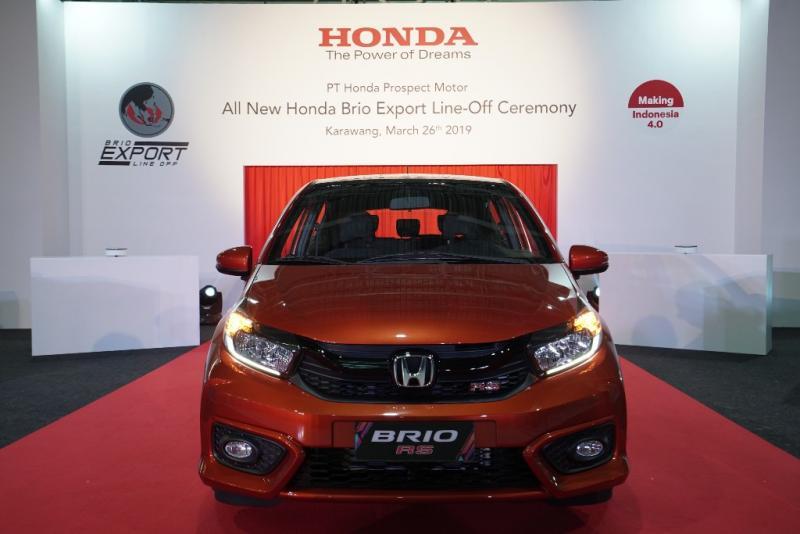 All New Brio diekspor menuju Filipina dan Vietnam