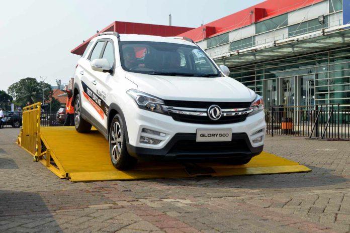 PT Sokonindo Automobile sediakan 3 unit Glory 560 di area test drive Telkomsel IIMS 2019, JIExpo Kemayoran Jakarta