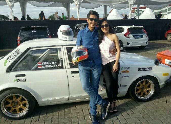 Kenny Kartasasmita dan Ratna Dewi, ternyata sudah lama temenan. (foto : bs)