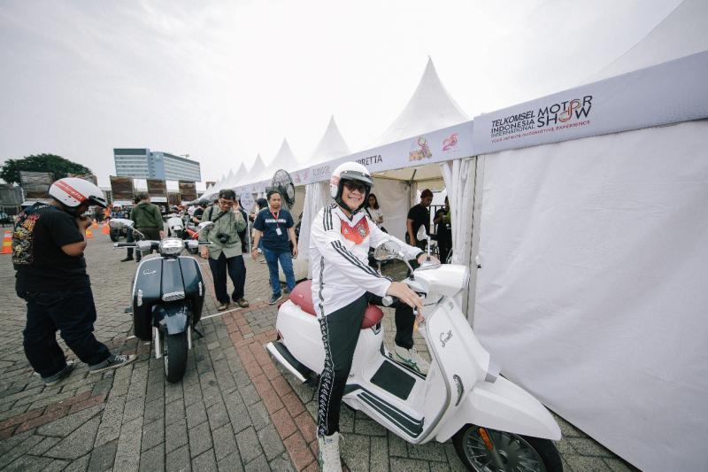 Lambretta resmi hadir di Indonesia dibawah bendera PT SMI yang memegang lisensi penuh atas distribusi skuter Lambretta di Indonesia. (anto)