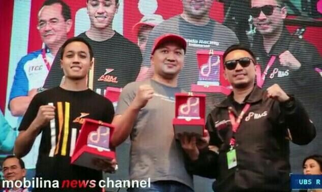 Avila, Alvin Bahar & Rudy MF, tidak pernah diarahkan jadi pembalap.  (foto : rayhan)