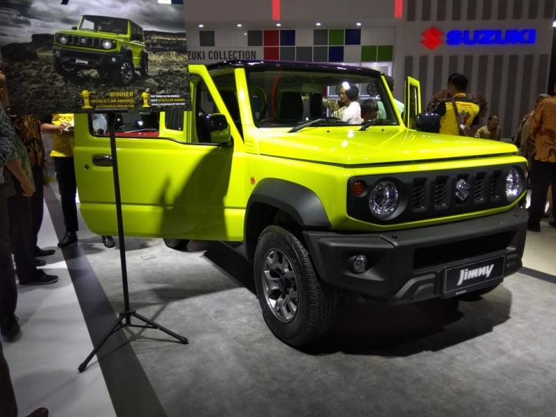 Dua bulan sebelum GIIAS 2019, Suzuki Jimny sudah didistribusikan ke dealer-dealer