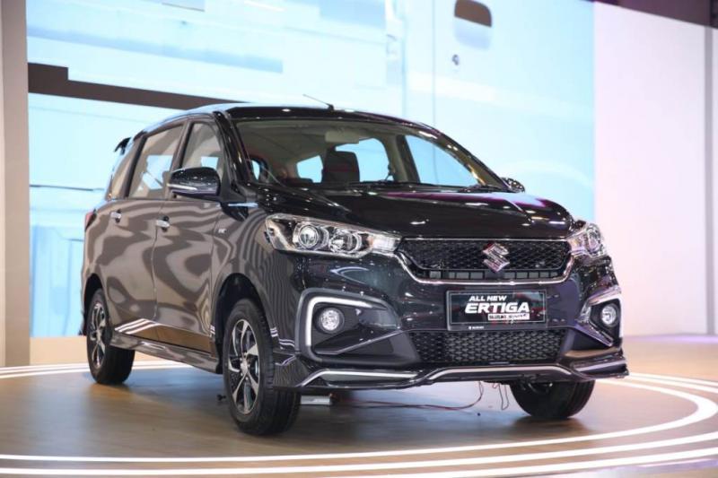 All New Ertiga Sport memberikan kontribusi sebesar 21,5% dari total penjualan model All New Ertiga selama pameran. (anto).
