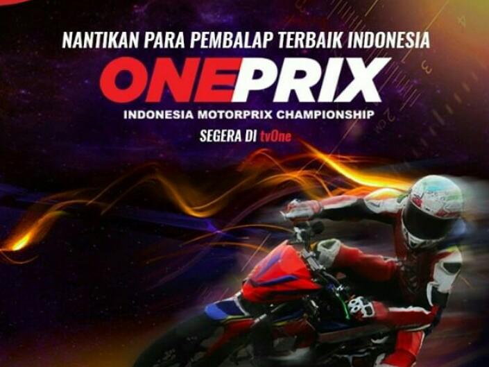 Balap motor Oneprix akan tayang 22 minggu di TVOne.
