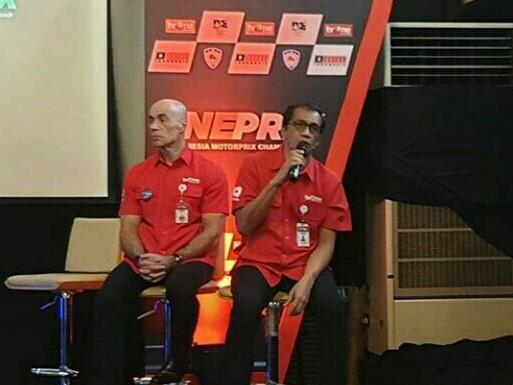 Deddy Reva Utama (kanan), akan kemas siaran Oneprix secara menarik dan disukai. (foto : bs)