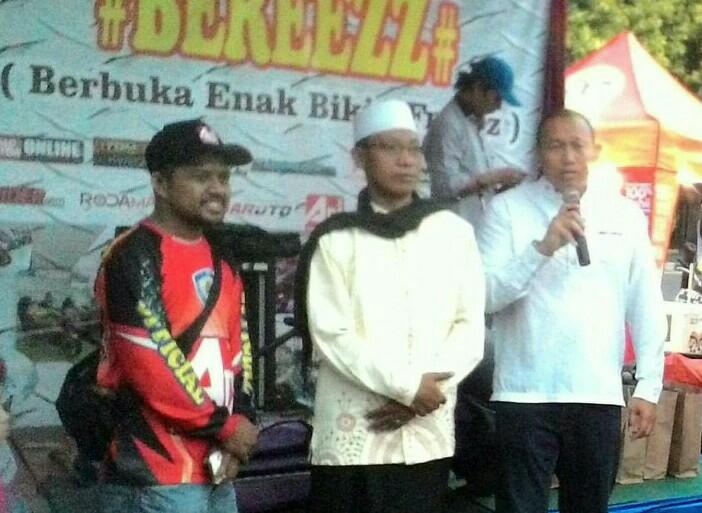 Anondo Eko hadir pada acara Adi Pro Modif Contest di Mall Grand Cakung pada 2 tahun lalu