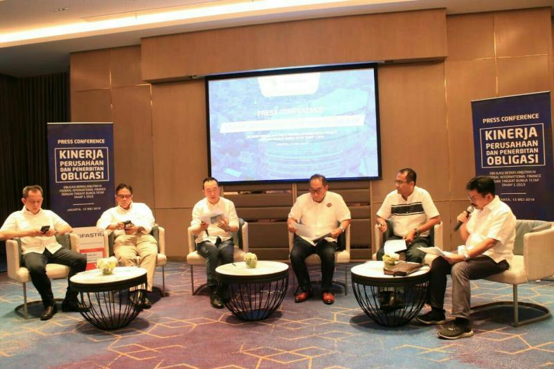 BOD FIF Group pada preskon dan bukber dengan media di Jakarta, Senin (13/5/2019) sore