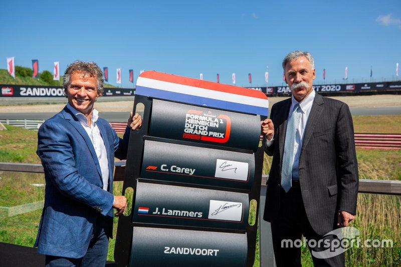 F1 Grand Prix Belanda di Sirkuit Zandvoort masuk kalender F1 musim 2020 (ist)