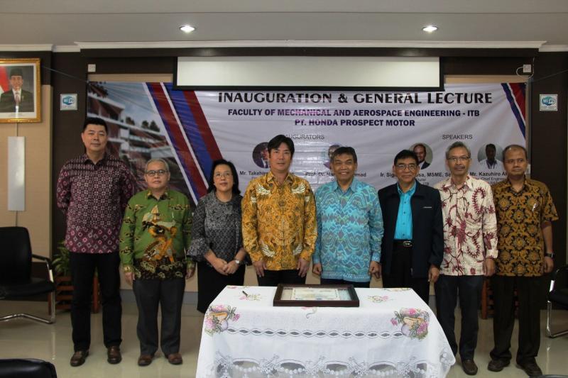 Hingga saat ini Honda telah mendonasikan kepada 46 sekolah kejuruan bidang teknik di seluruh Indonesia.