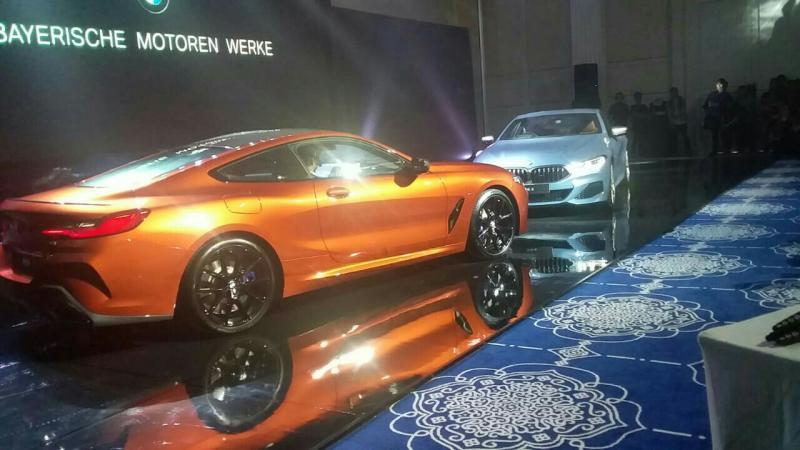 All New BMW M850i resmi masuk mobil Indonesia. (foto : rnp)