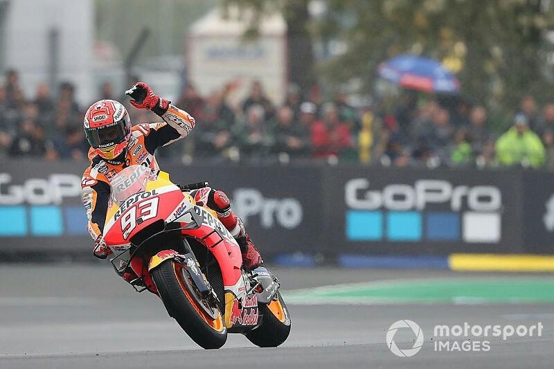 Marc Marquez (Honda) kembali dulang poin maksimal, kini di GP Prancis. (Foto: motorports)