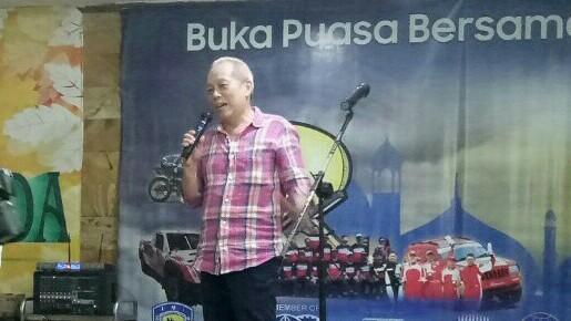 Jeffrey JP, sampaikan kepastian Palembang dan Semarang gelar MXGP 2019. (foto : bs)