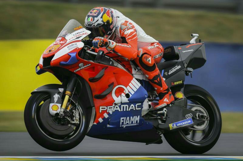 Rider Australia, Jack Miller (tim Pramac Ducati) menggoyang bursa transfer di MotoGP.