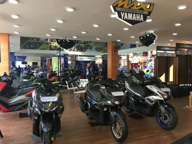 Yamaha memboyong tema Maxi Experience di Jakarta Fair 2019