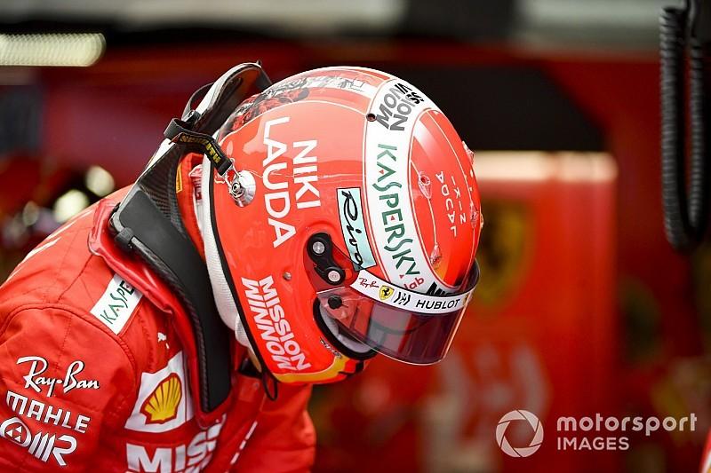 Vettel pakai desain helm baru sebagai penghormatan untuk Niki Lauda (ist)