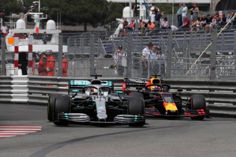 Lewis Hamilton akhirnya berjaya di grand prix Monaco (ist)