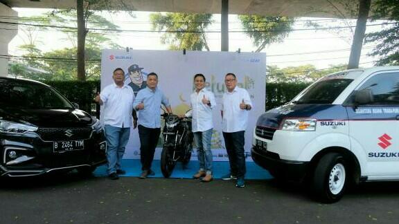 Selain Posko mudik, Suzuki juga siapkan 162 unit mobil towing temani pelanggan setia