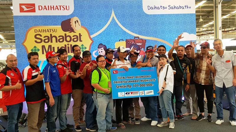 Daihatsu Sahabat Mudik 2019 untuk anggota klub dan jurnalis