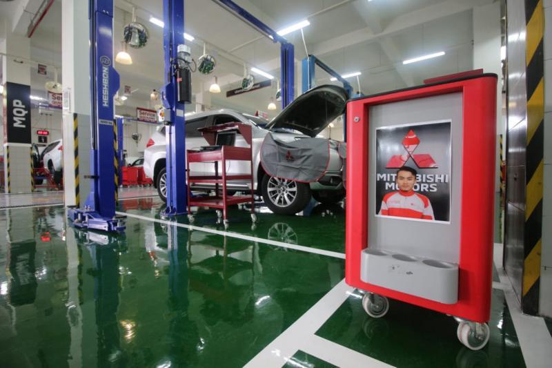 Dealer Mitsubishi Cikokol Tangerang (PT Nusantara Berlian Motor) dilengkapi dengan fasilitas fleet service