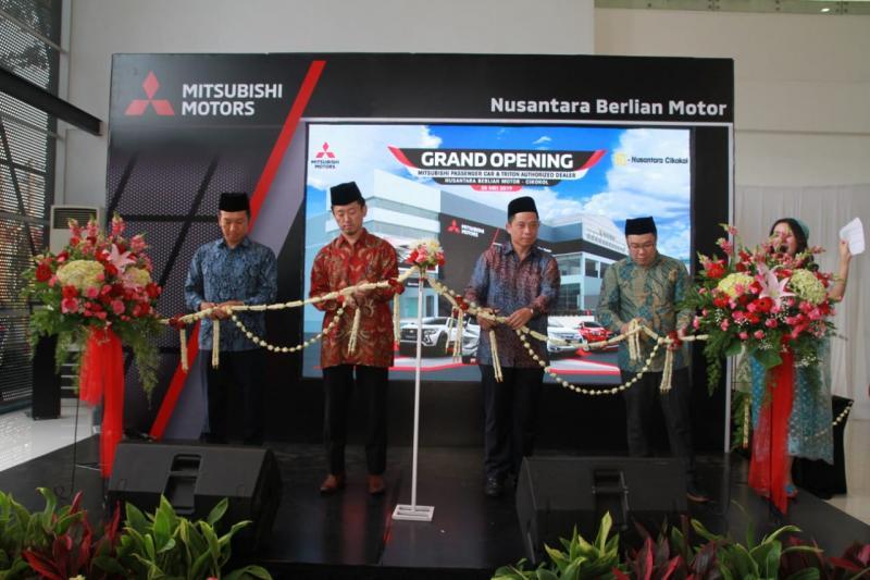 Mitsubishi serius manggarap market Tangerang dengan membangun banyak dealer di beberapa lokasi strategis