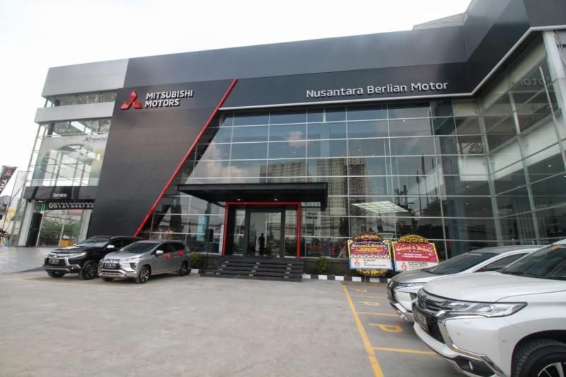 Dealer baru Mitsubishi milik PT Nuansa Berlian Motor jadi dealer yang ke-134 di Indonesia