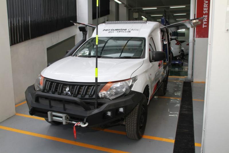 Mitsubishi New Triton jadi armada service car menggantikan L300