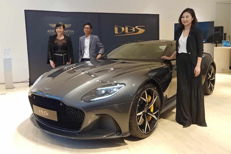 Aston Martin Superleggera, model Super GT teranyar Aston Martin