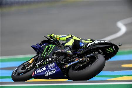 Valentino Rossi hanya butuh M1 yang andal di Mugello Italia. (foto : roadracingworld)