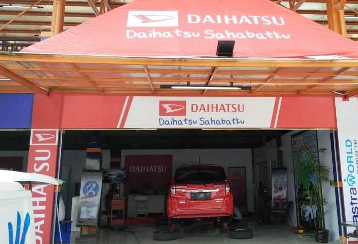 Pastikan sebelum mudik kendaraan Sahabat Daihatsu telah di-service di bengkel resmi Daihatsu.
