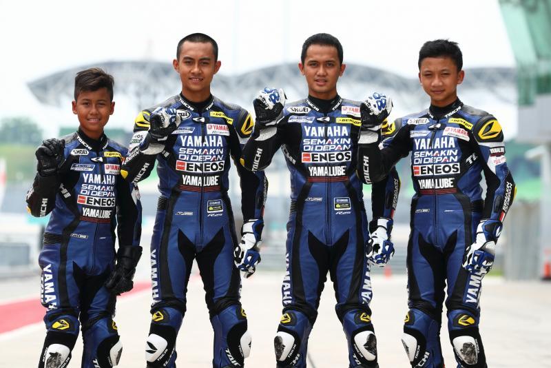 Aldi Satya Mahendra, M Faerozi, Anggi Setiawan dan Wahyu Nugroho siap unjuk kebolehan di ARRC Thailand